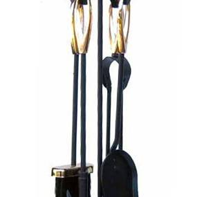 Manor Orion Loop Companion Set 2125 - Black & Brass