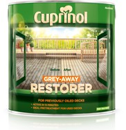 Cuprinol Grey-Away Restorer For Previously Oiled Decking 2.5ltrs