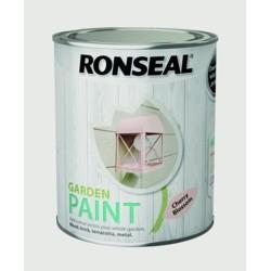 Ronseal Garden Paint - Cherry Blossom