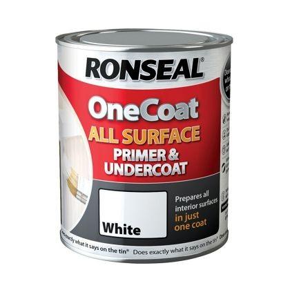 Ronseal Primer & Undercoat White 750ml