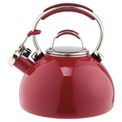 Prestige Stove Top Whistling Kettle 2L - Red