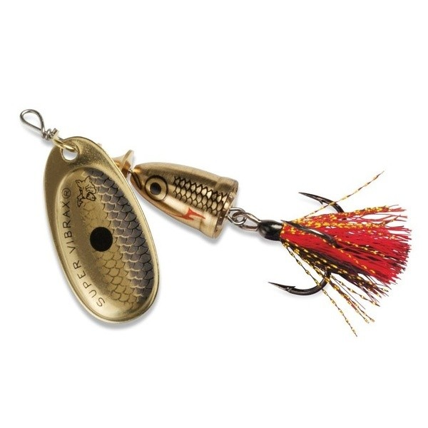 Blue Fox Vibrax Mid Depth Fox Tail Spinner 3/16 6g
