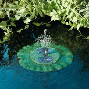 Smart Garden Lily Floating Fountain Water Feature