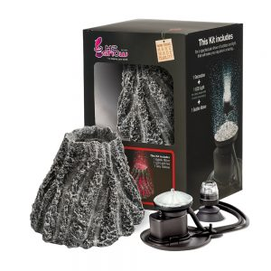 Hydor H2Show Kit Grey Volcano Includes Led And Airater
