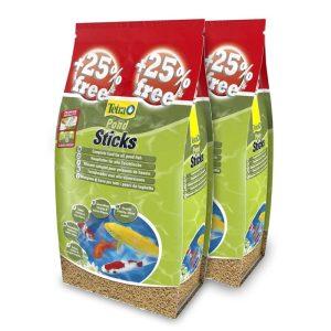Tetra Pond Sticks - 40L + Extra Free (50L) x 2 Bags