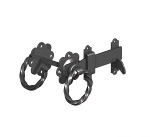 "Gatemate Twisted Ring Gate Latches 6"" 150mm"
