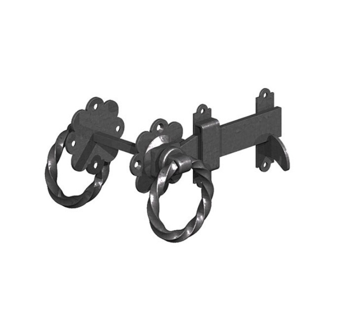 Gatemate Twisted Ring Gate Latches 6