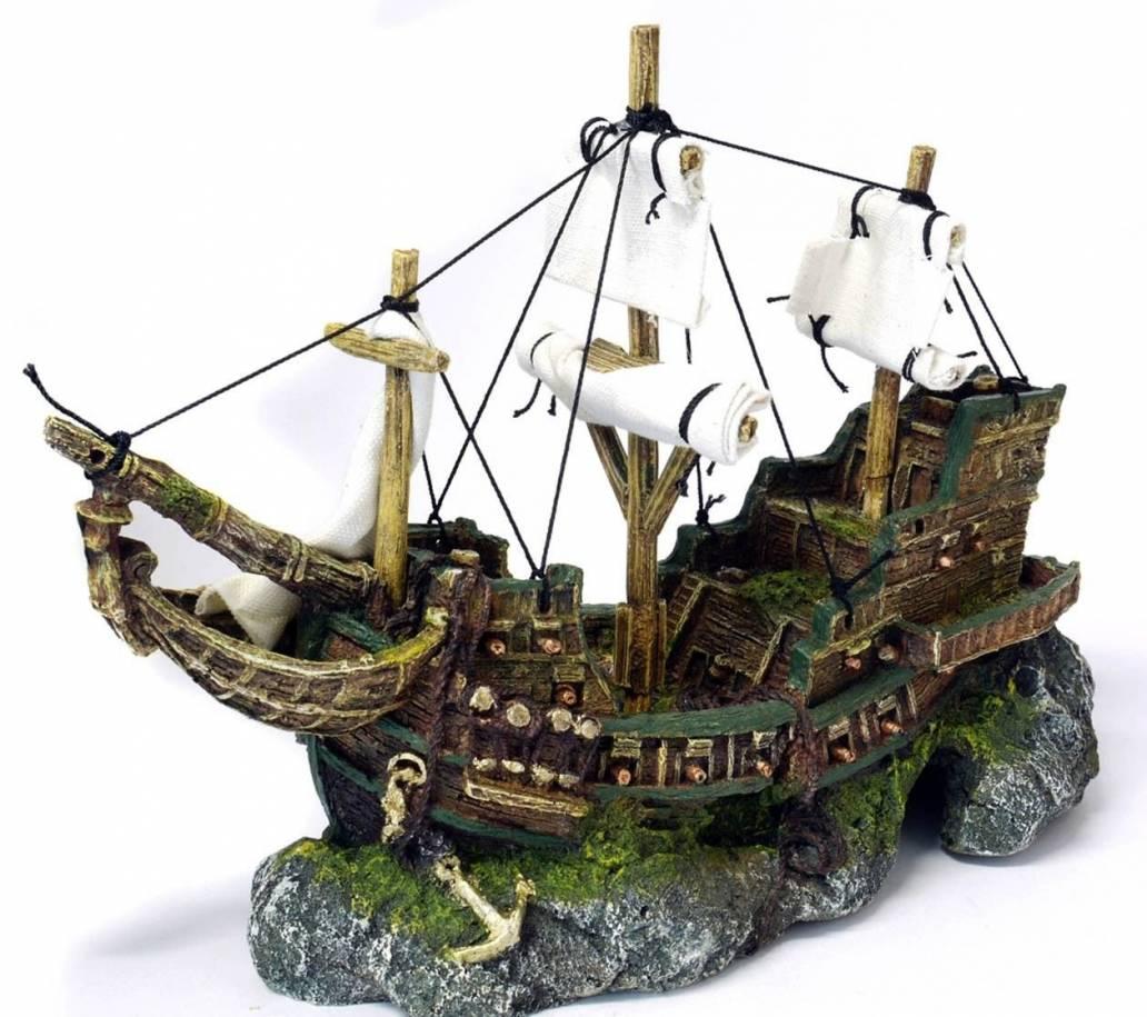 Classic Aquatics Galleon With Sails 330mm (3005)