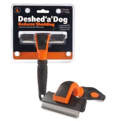 Sharples'N'Grant Deshed 'a' Dog - Large - Orange/Black - 100mm blade
