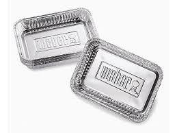 Weber Small Drip Pans Pack 10 6415