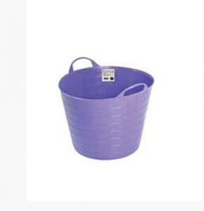 Garland 26Ltr Flexi Tub Purple