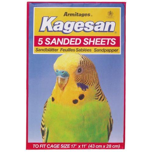 Kagesan Sanded Sheets No6 43x27cm 5 Sheets
