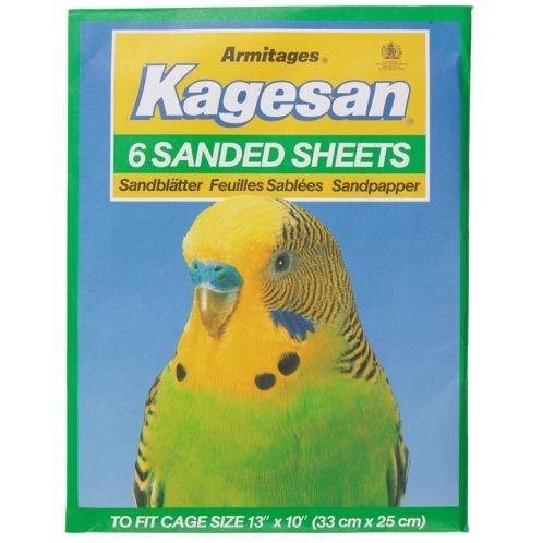 Kagesan Sanded Sheets No4  32x25cm 6 Sheets