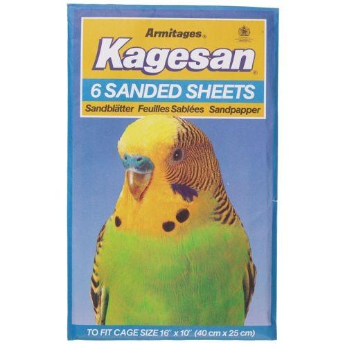 Kagesan Sanded Sheets No5 40x25cm 6 Sheets