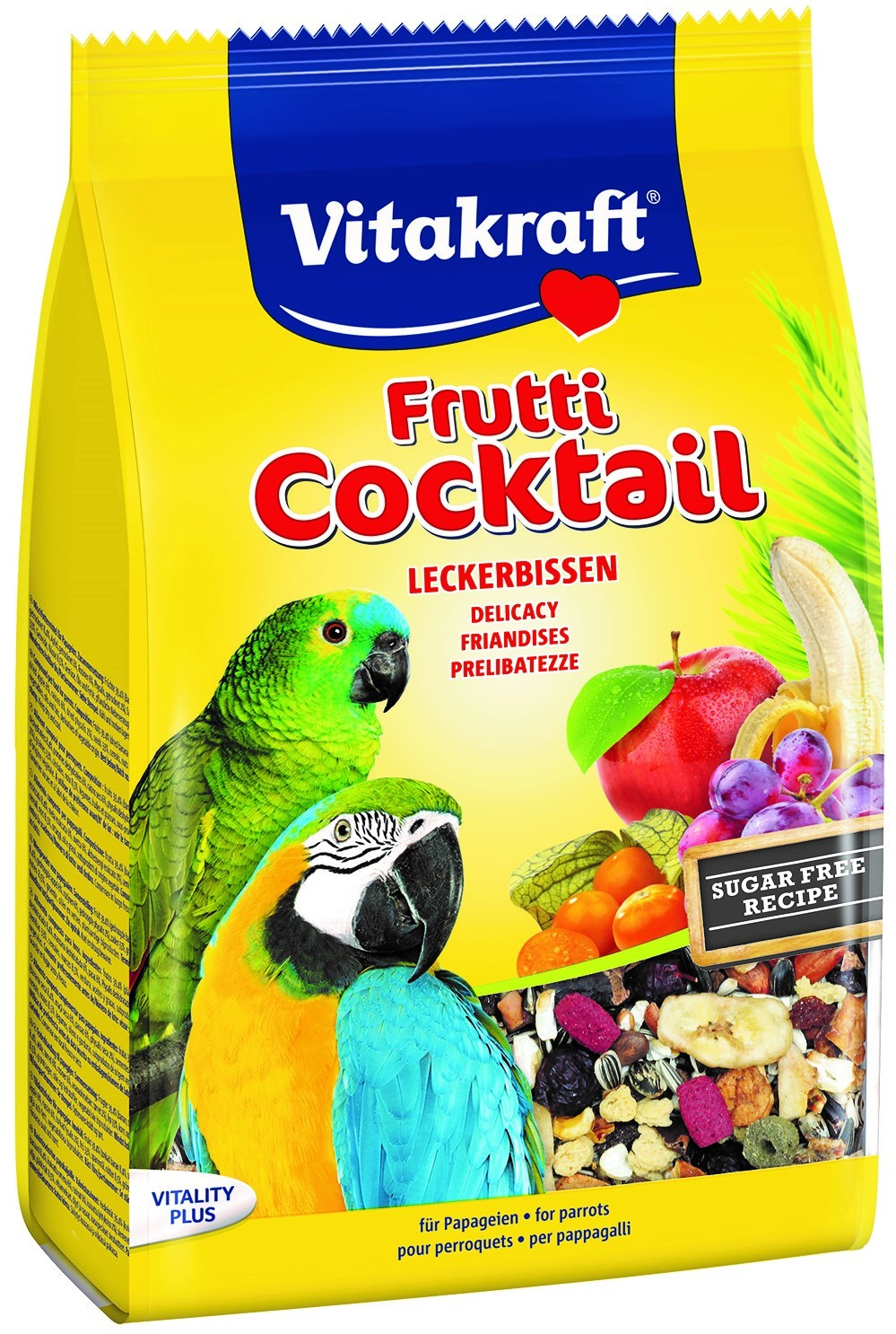 Vitakraft Parrot And Cockatiel Fruity 250g