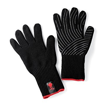 Weber Premium Barbecue Gloves - Size S/M - Black - (6669)