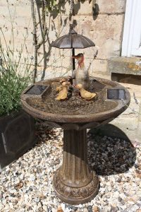 Smart Garden Duck Family Water Feature
