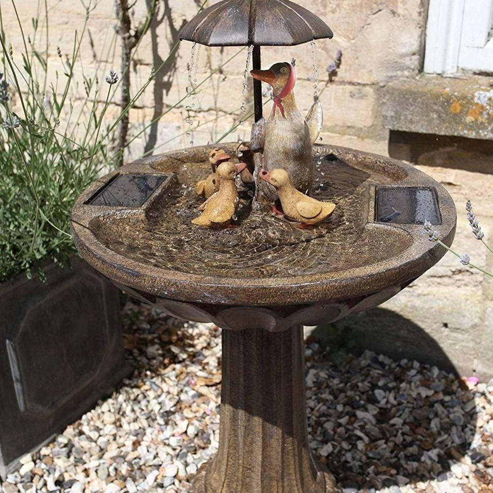 Smart Garden Duck Family Water Feature