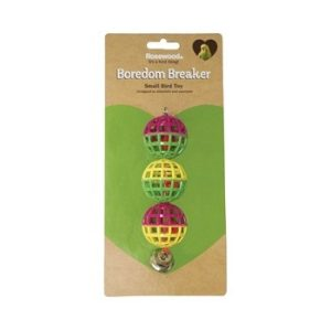 Rosewood Boredom Breaker Small Bird Toy Budgie, Canary