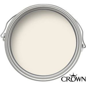Crown Matt Emulsion Paint - Cream White - 2.5L
