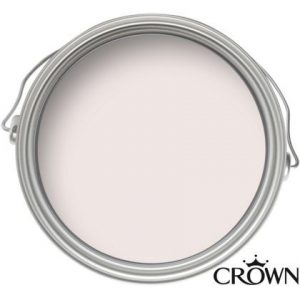 Crown Matt Emulsion Paint - Creme De La Rose - 2.5L
