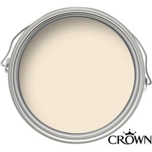 Crown Matt Emulsion Paint - Ivory Cream - 2.5L