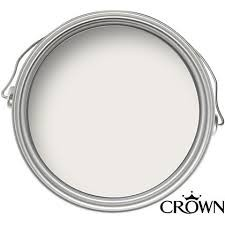 Crown Matt Emulsion Paint - Sail White - 2.5L