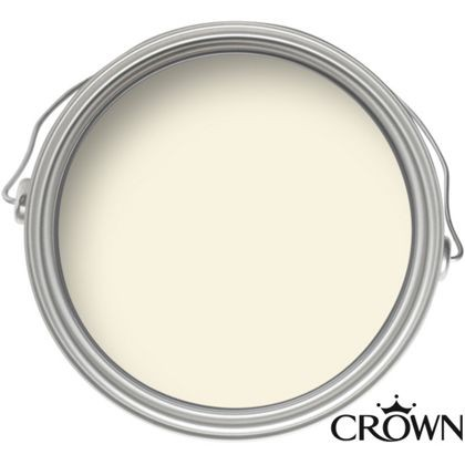 Crown Matt Emulsion Paint - Soft Linen - 2.5L