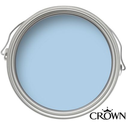 Crown Matt Emulsion Paint - Powder Blue - 2.5L