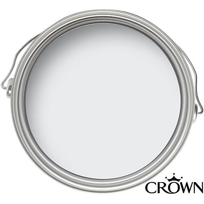 Crown Matt Emulsion Paint - Clay White - 2.5L