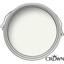 Crown Matt Emulsion Paint - Milk White - 2.5L