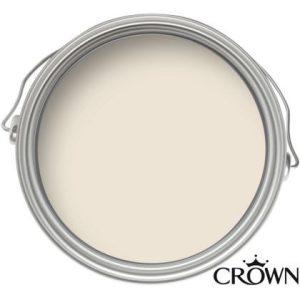 Crown Matt Emulsion Paint - Snowdrop - 2.5L