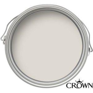 Crown Matt Emulsion Paint - Snowfall - 2.5L