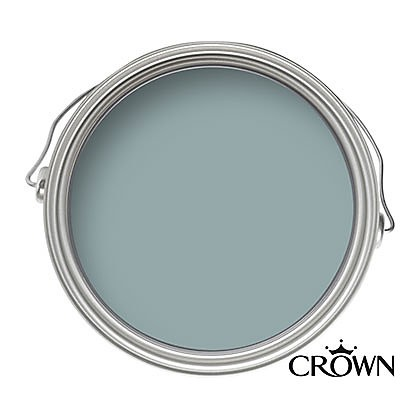 Crown Matt Emulsion Paint - Duck Egg - 2.5L
