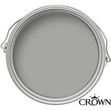 Crown Matt Emulsion Paint - Granite Dust - 2.5L