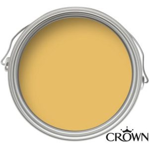 Crown Matt Emulsion Paint - Mustard Jar - 2.5L