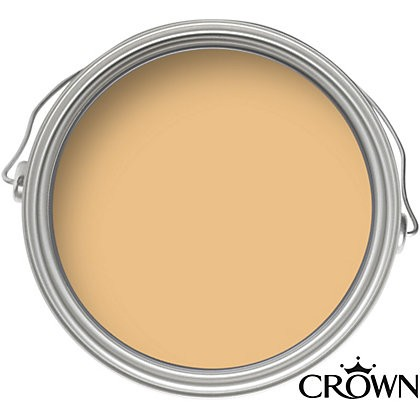 Crown Matt Emulsion Paint - Old Gold - 2.5L