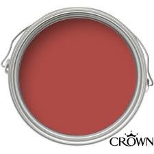 Crown Matt Emulsion Paint - English Fire - 2.5L