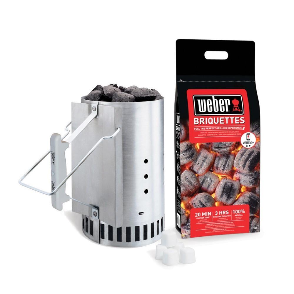 Weber Chimney Starter Set 17631