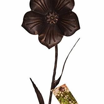 Gardman Periwinkle Flower Stake 90cm