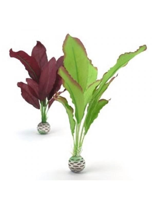 Oase BiOrb Silk Plant Set - Medium - Green & Purple (46101)