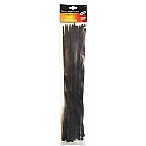 Blackspur 30pc Cable Tie Set - 15