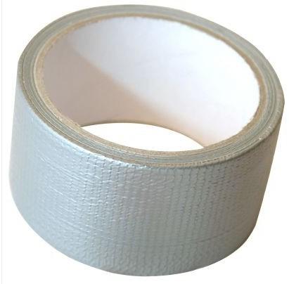 Blackspur 50mm x 10M Supertough Cloth Tape - Silver (TM270)
