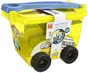 Despicable Me 3 Filled Sticker Truck