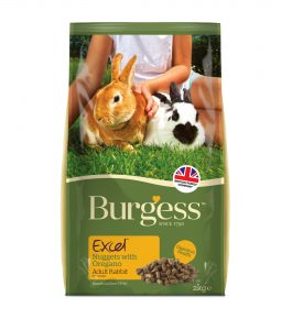 Burgess Excel Adult Rabbit Nuggets With Oregano - 2 kg