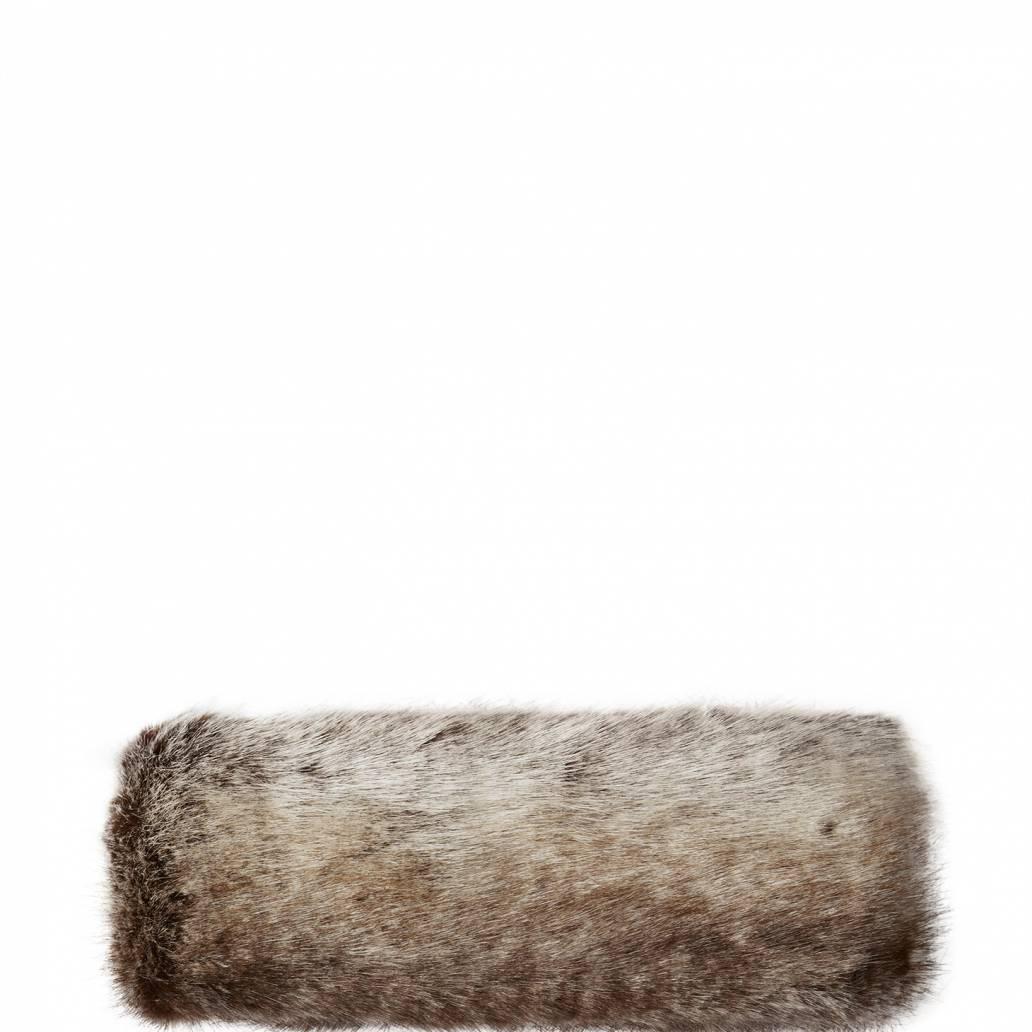 Joules Ladies Liza Faux Fur Headband - Reindeer