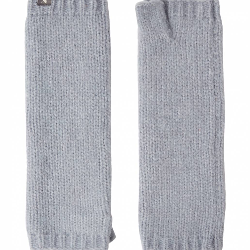 Joules Ladies Snugwell Glove Chocaway Boucle Glove - Blue
