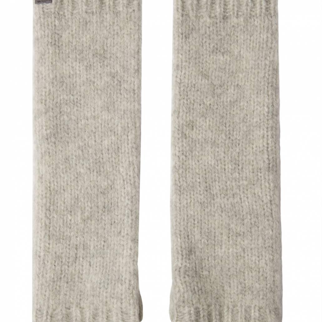 Joules Ladies Snugwell Glove Chocaway Boucle Glove - Grey Marl