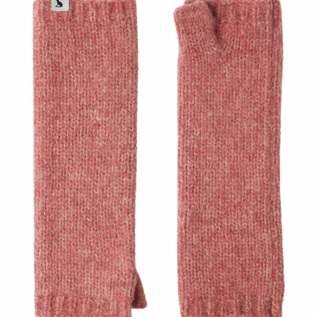 Joules Ladies Snugwell Glove Chocaway Boucle Glove - Pink Blush