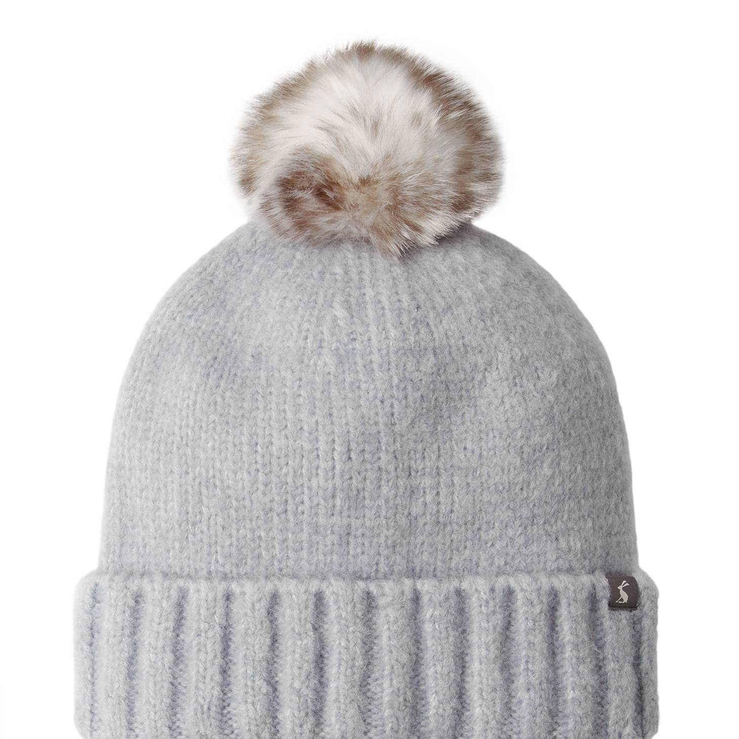 Joules Ladies Snugwell Hat Heavyweight Boucle Hat - Blue